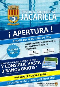 Cartel Piscina 2015